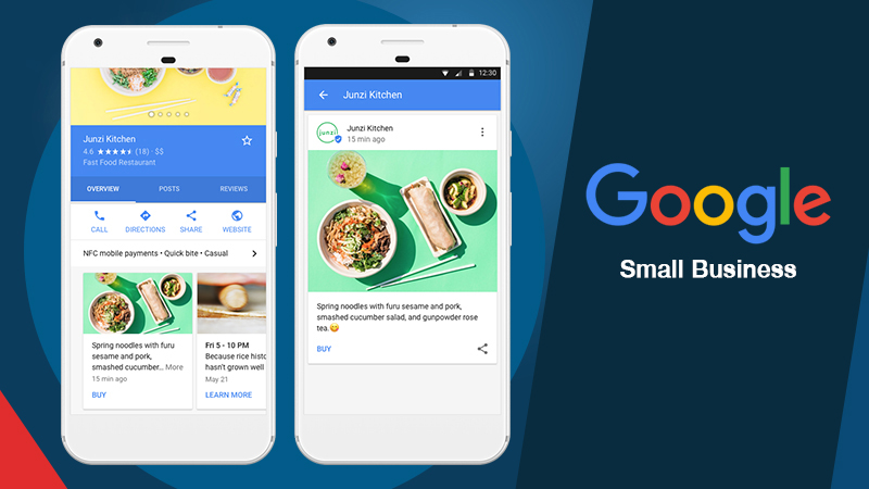Google My Business Posts for local businesses