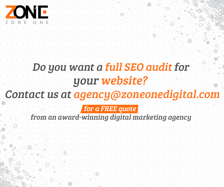 Do you want a full SEO audit for your website