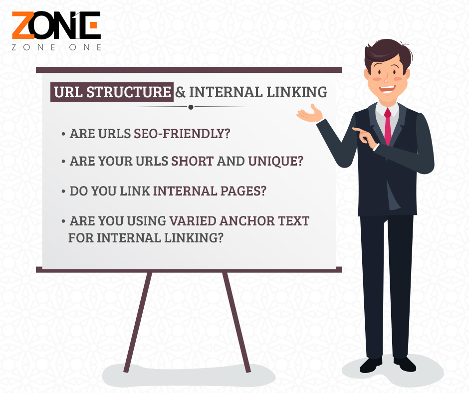 URL structure and internal linking
