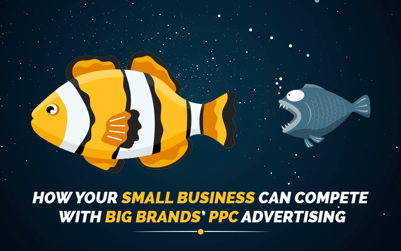 How your small business can compete with big brands' PPC advertising