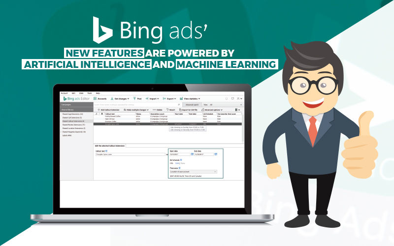 Bing Ads' New Features Are Powered by AI and Machine Learning