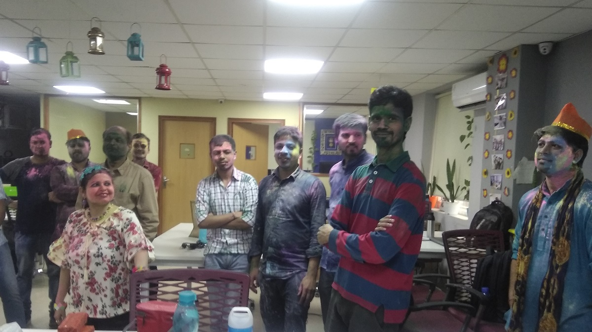 Zone One Digital with Eco-Friendly Holi Celebrations