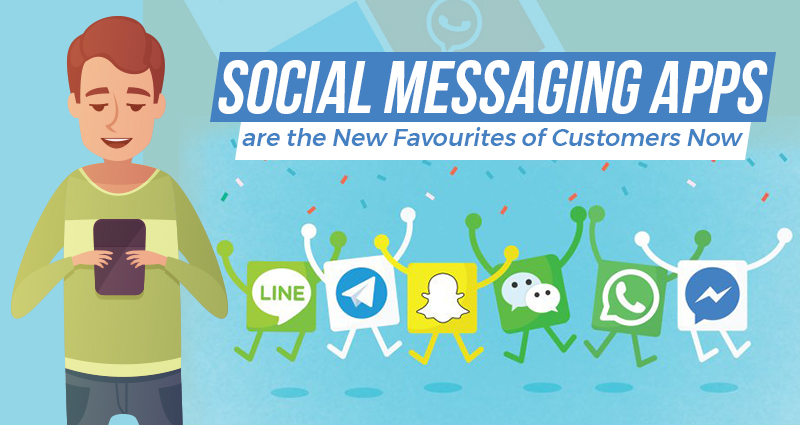 Customers prefer social messaging